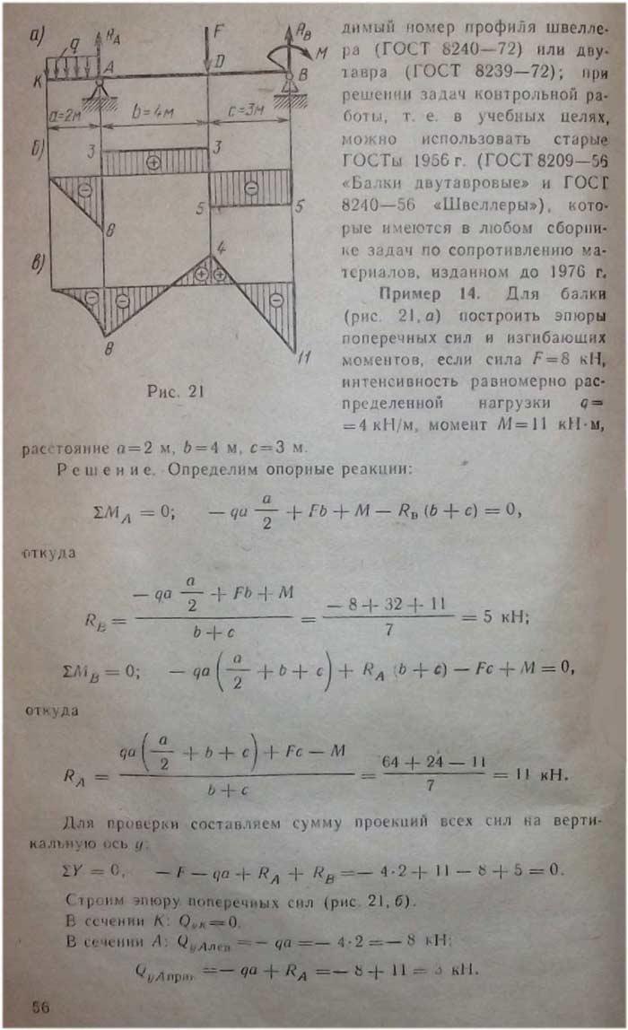 Решебник по основе технической механике